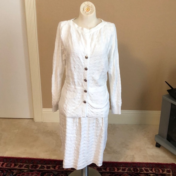 CHANEL Dresses & Skirts - Chanel Two Pieces Suit
